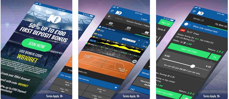 10bet horse racing betting app