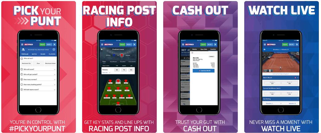 Betfred App horse racing app