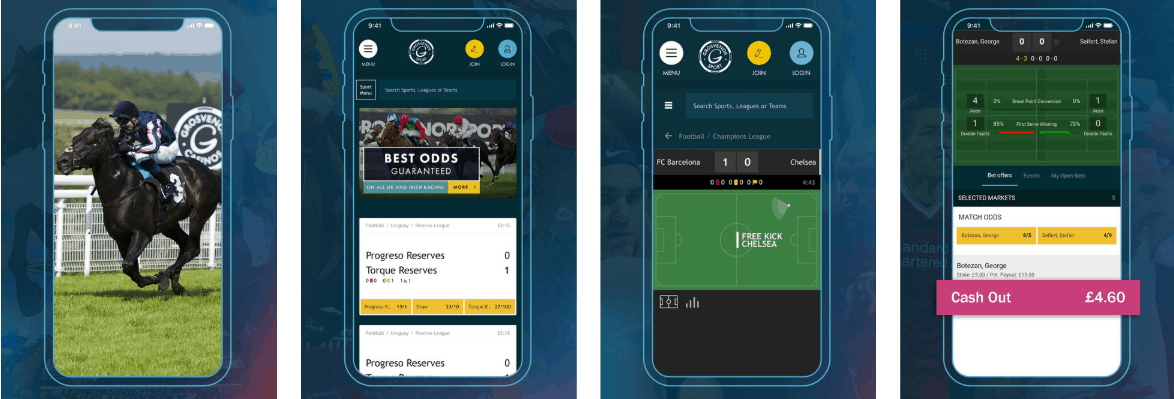 Grosvenor Sport App For iPhone & iPad