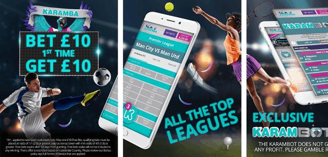 Karamba Android Betting App