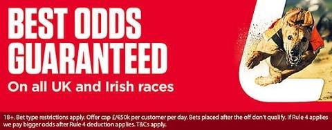 Ladbrokes Best Odds Guaranteed - Greyhounds