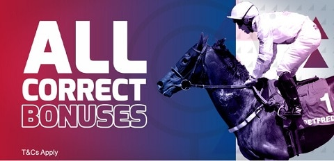 Betfred Horse Racing & Greyhounds - All Correct Bonuses