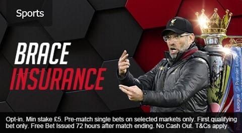 Mansionbet Premiere League Brace Insurance