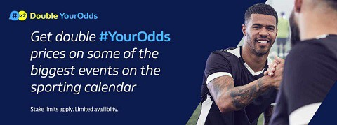 William Hill Double YourOdds