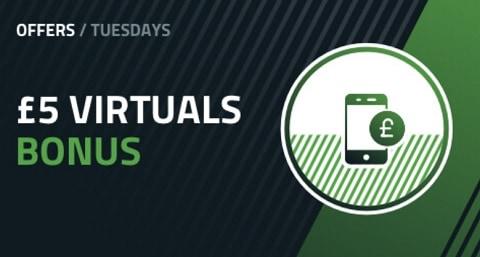 FansBet £5 Virtuals Bonus