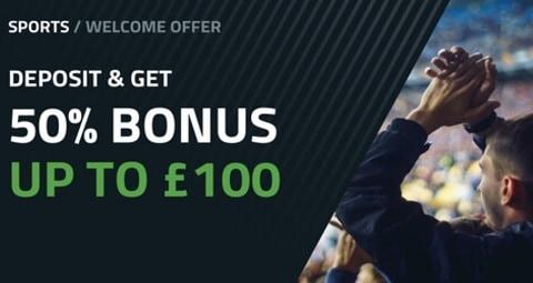 FansBet 50% Bonus up to £100