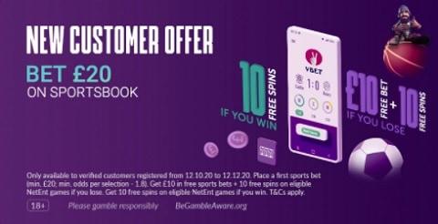 VBET New Customer Offer
