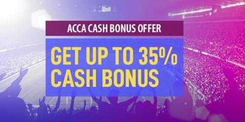 Toals Acca CASH Bonus Offer