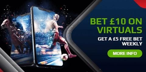 NetBet Virtual Sport Free Bet