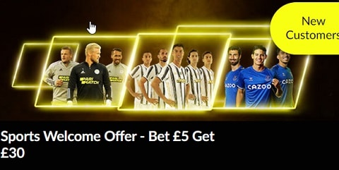 PariMatch Sports Welcome Offer – Bet £5 Get £30