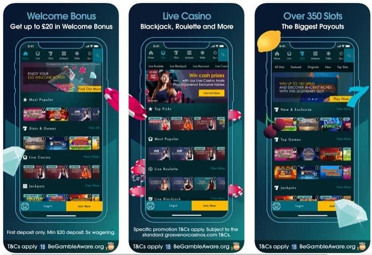 Grosvenor Mobile Casinos