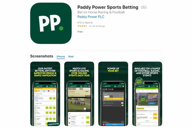 Paddy Power Download