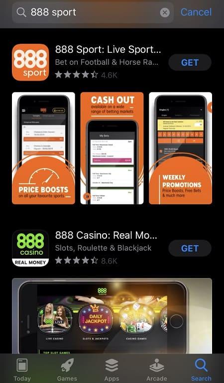 888sport iOS app download