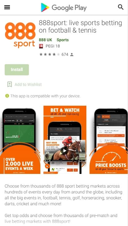 888sport Android App Download