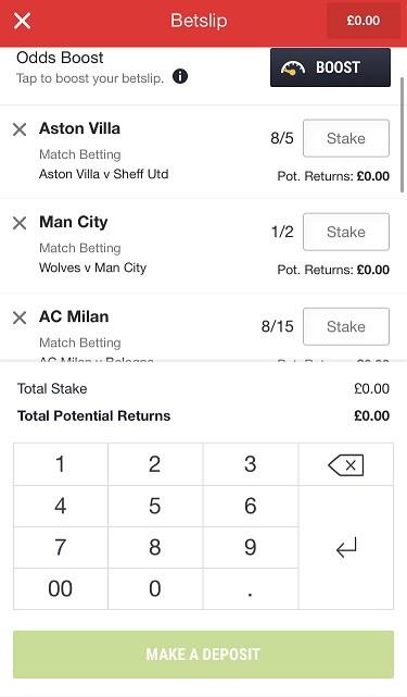 Ladbrokes Acca Betting