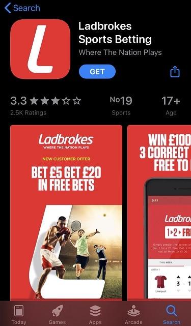 Ladbrokes App Download