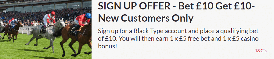Black Type Sign Up offers