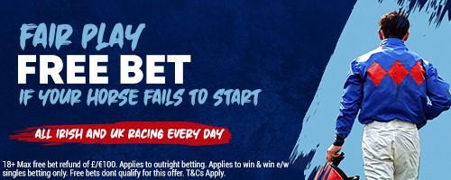 BoyleSport Horse Racing free bet