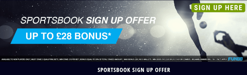Fun88 Sign Up Offer