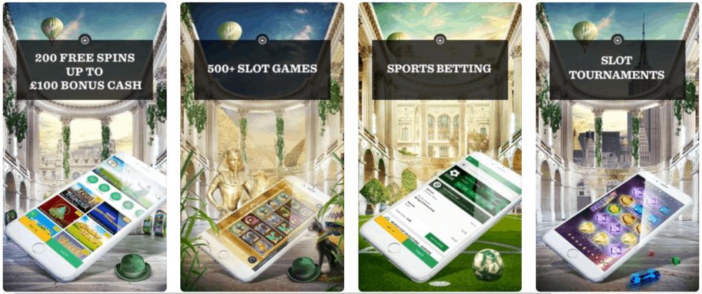 Mr green mobile app