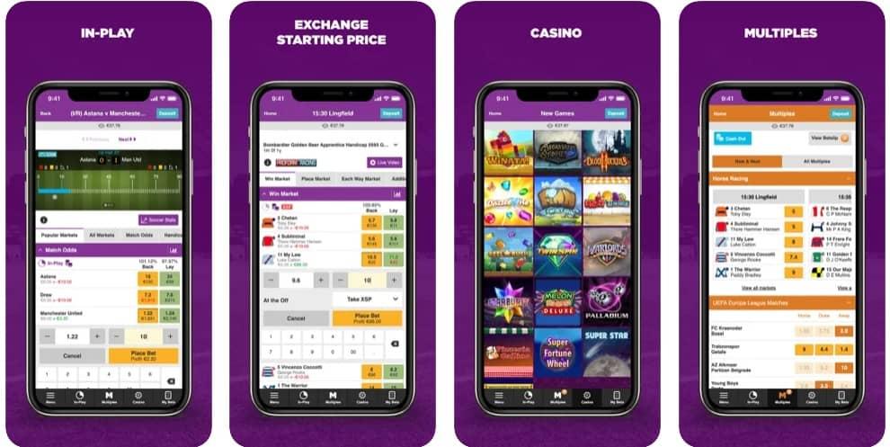 Betdaq iOS app