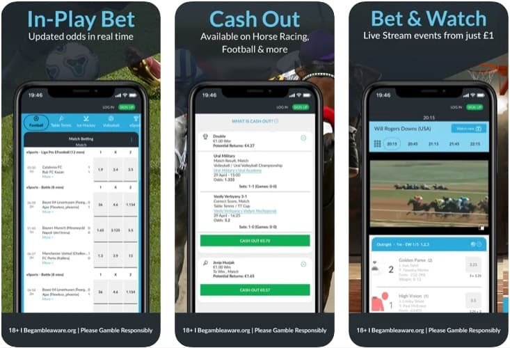 Betvictor Mobile App - iOS