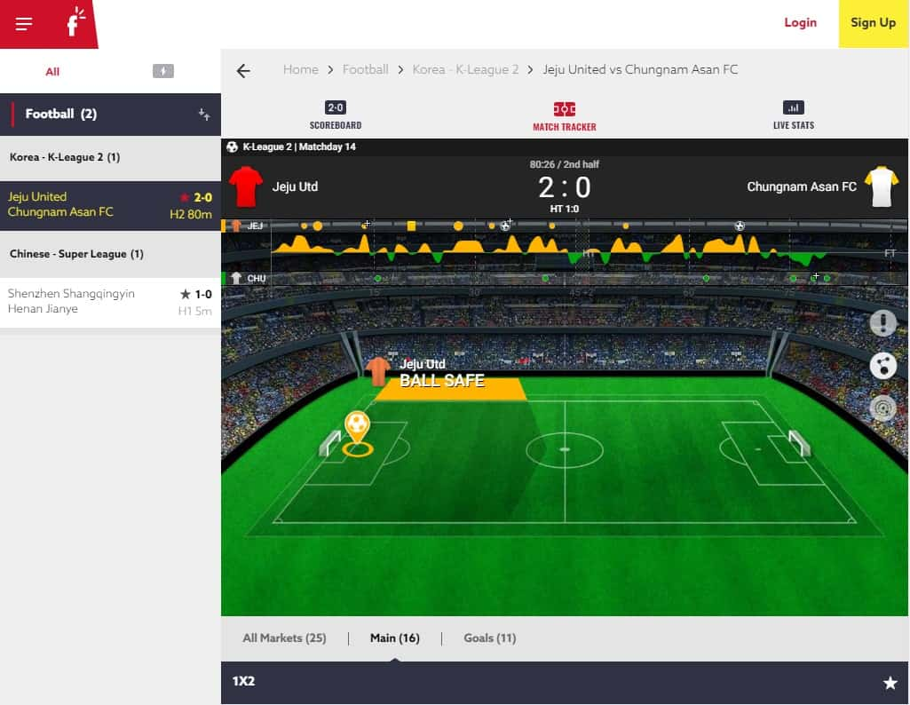 Funbet Football Betting