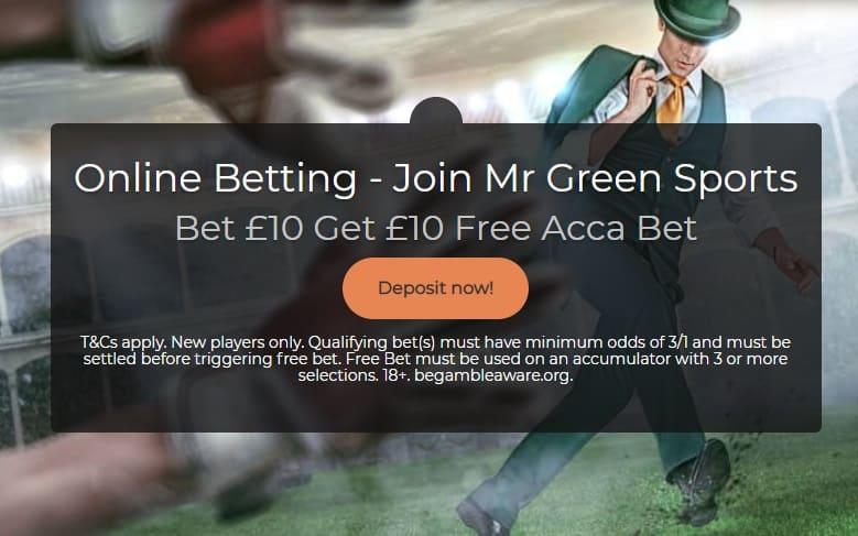 Mr Green Sign Up Offer