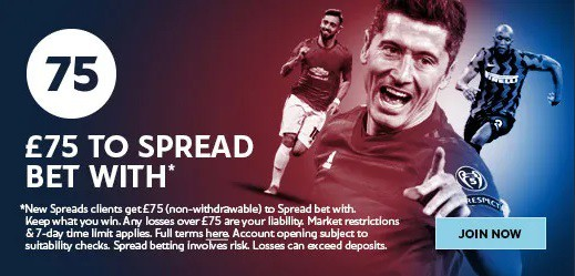 Sporting index sign up offer