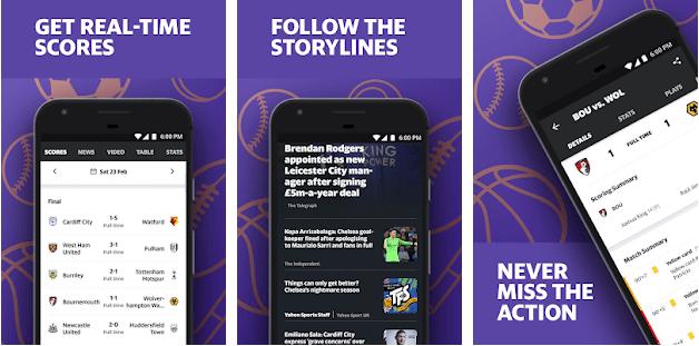 yahoo sport app