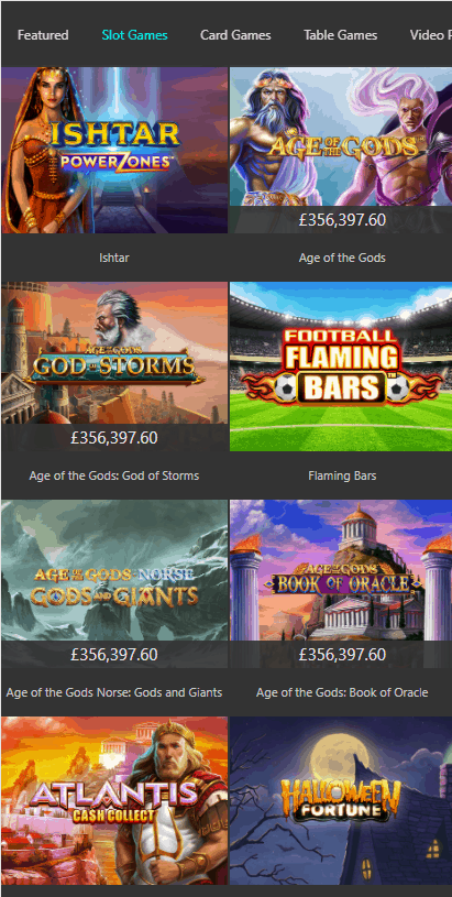 bet365 mobile slots
