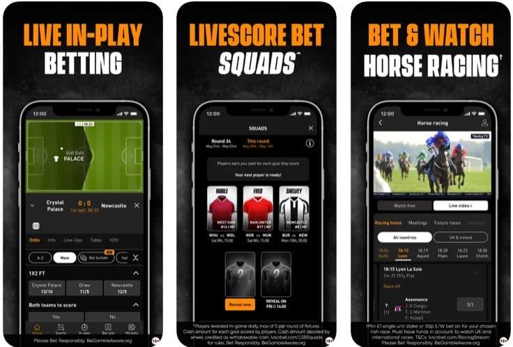 LiveScore Bet App